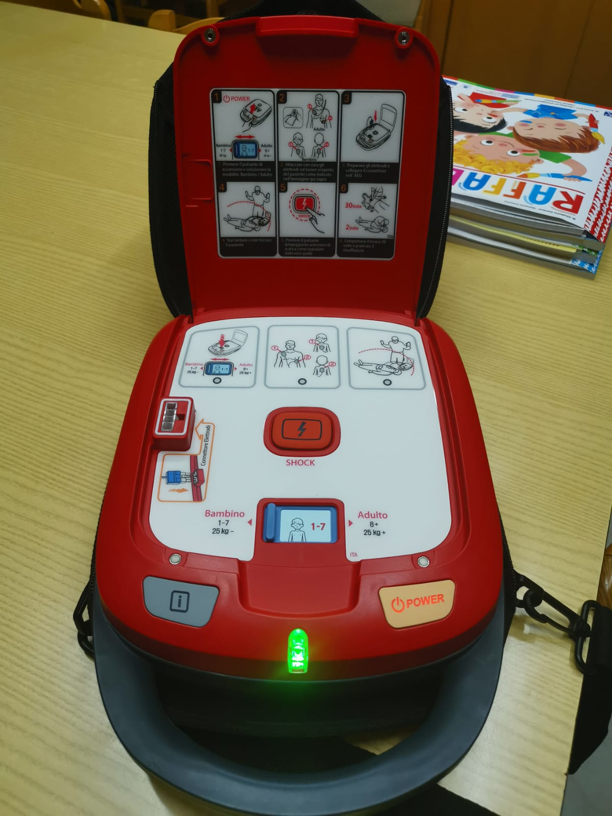 defibrillatore Heart Guardian HR 501